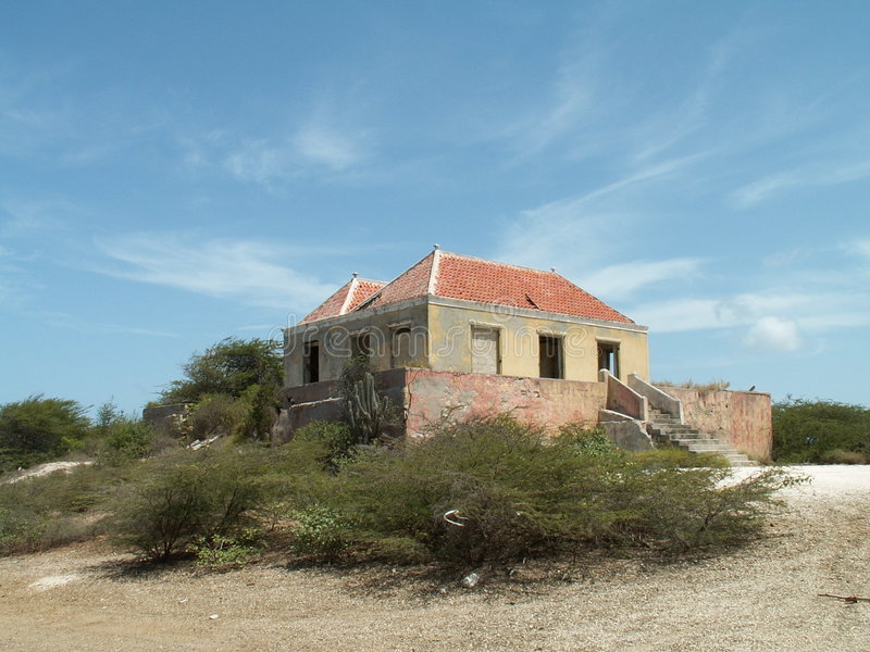 Download Dutch colonial house stock image. Image of sunny, curacao - 3680595