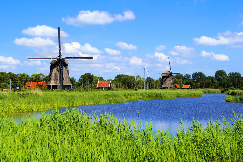 Download Dutch countryside stock image. Image of holland, canal - 26366653