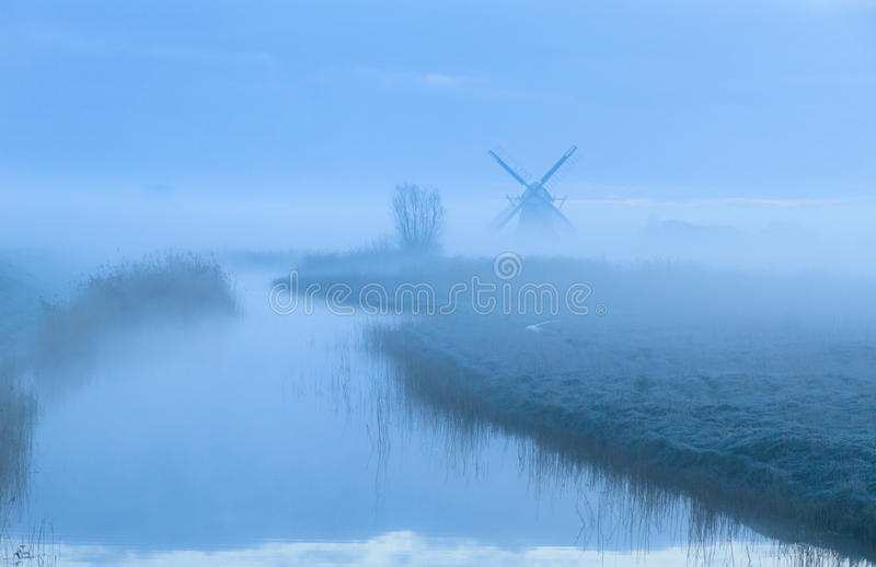 Dutch dawn. royalty free stock images