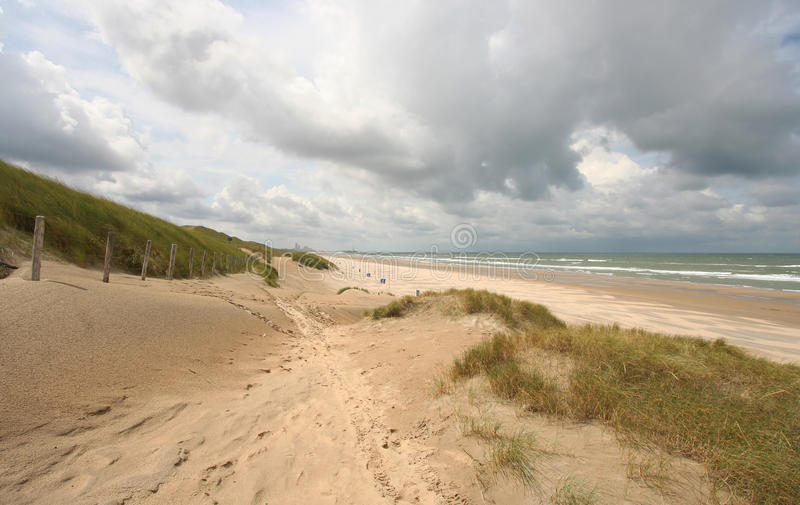 dutch del litorale fotografia stock libera da diritti