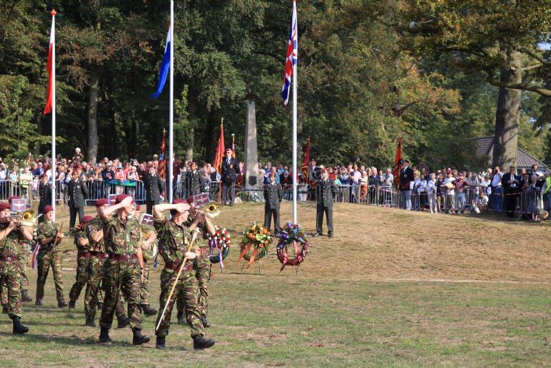 dutch di commemorazione di battaglia di Arnhem fotografia stock