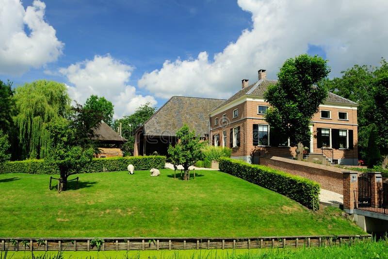 Dutch farm royalty free stock photos