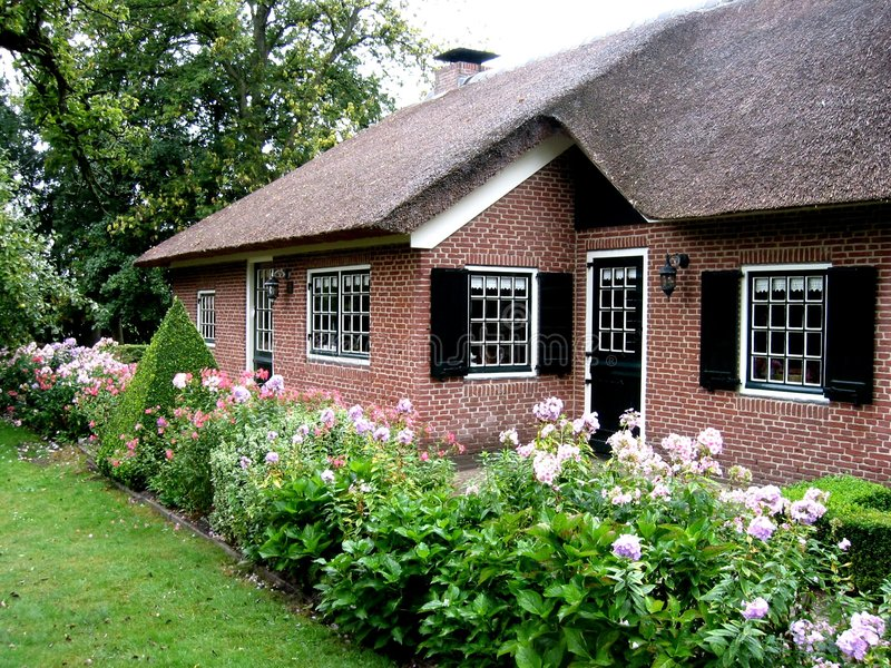 Download Dutch farmhouse stock photo. Image of property, rent, holland - 11392