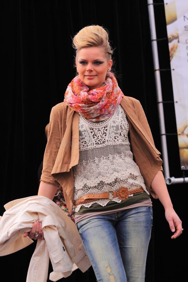 Dutch Fashion Show - Copy Space Editorial Photography