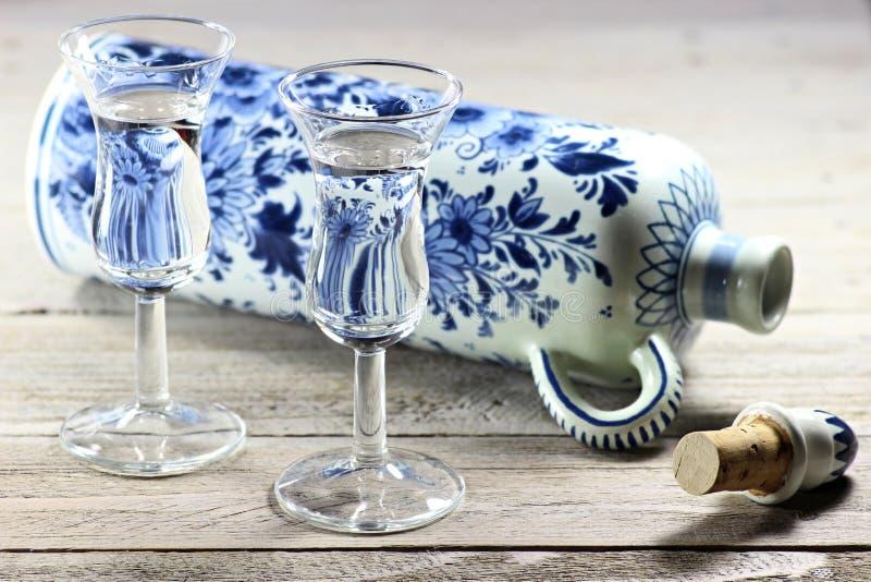 Dutch gin royalty free stock image