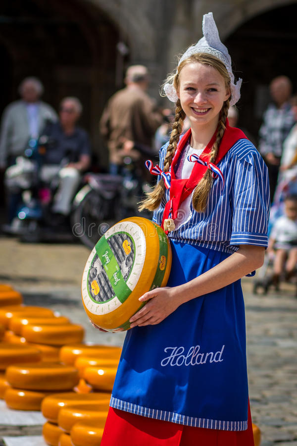 Dutch Girl stock image