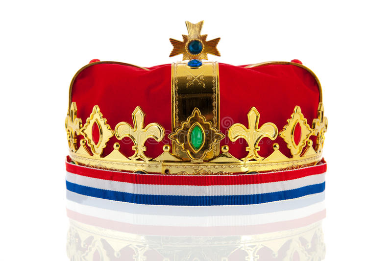 Download Dutch Golden Crown For The King Stock Photo - Image: 30434290