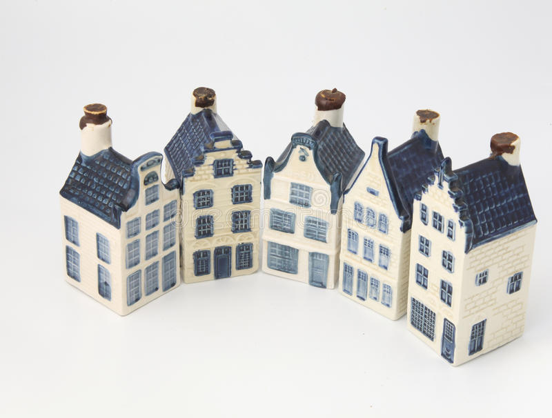 Download Dutch Historical Ceramic Houses In Delft China Stock Image - Image of architecture, isolated: 14454811