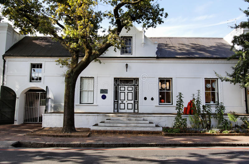 Dutch House In South Africa Royalty Free Stock Image