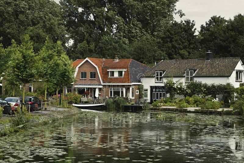 Dutch houses. royalty free stock photos