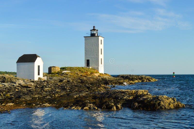 Dutch Island Lighthouse royalty free stock photography