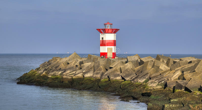 Download Dutch Lighthouse stock photo. Image of netherlands, port - 24452230