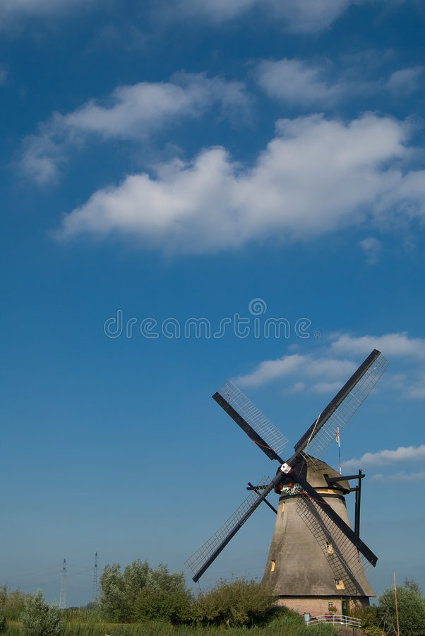 Free Dutch Mill Royalty Free Stock Photo - 4364245