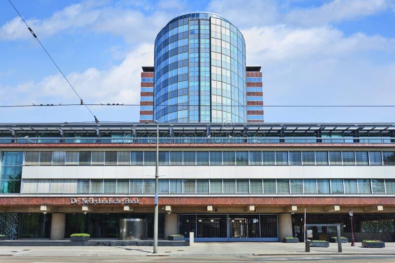 Dutch National Bank, Amsterdão foto de stock