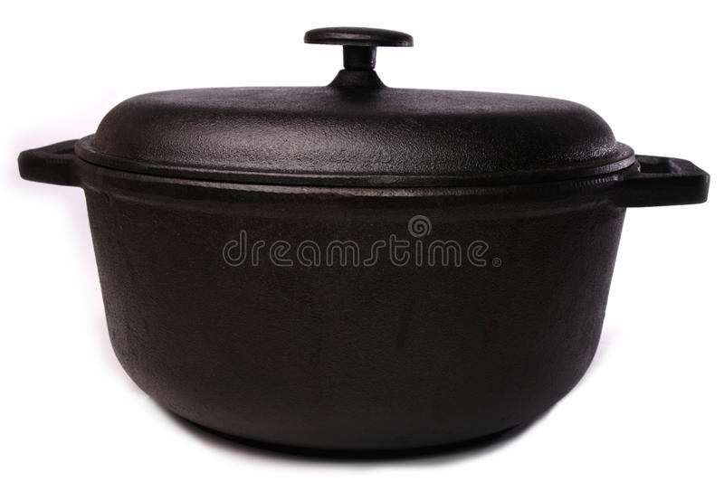 Dutch Oven Cooking Pot Stock Images