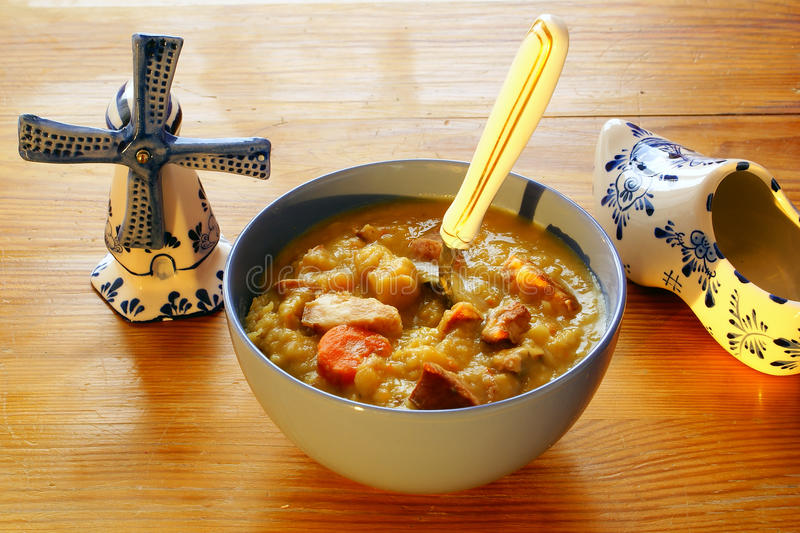 Dutch pea soup royalty free stock images