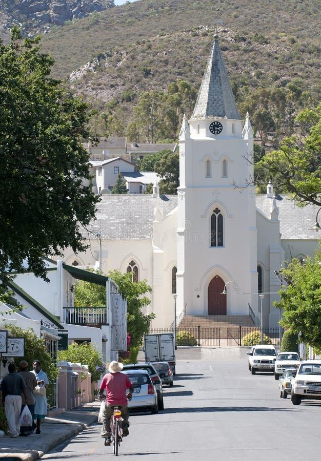 Dutch Reform Church in Montagu South Africa stock image