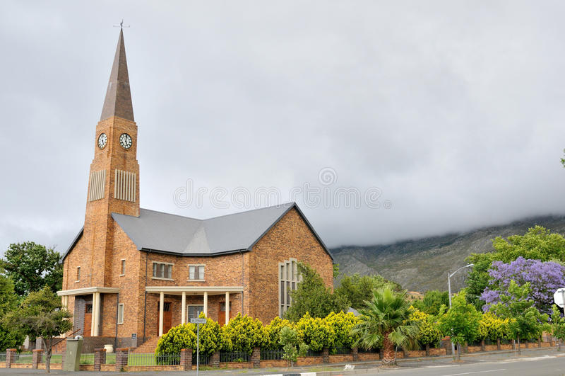 Dutch Reformed Church, Villiersdorp stock image