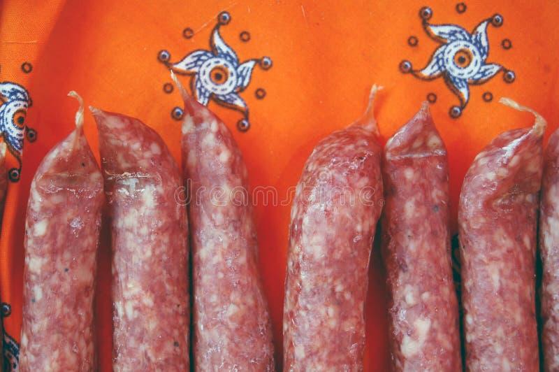 Dutch sausage royalty free stock photo