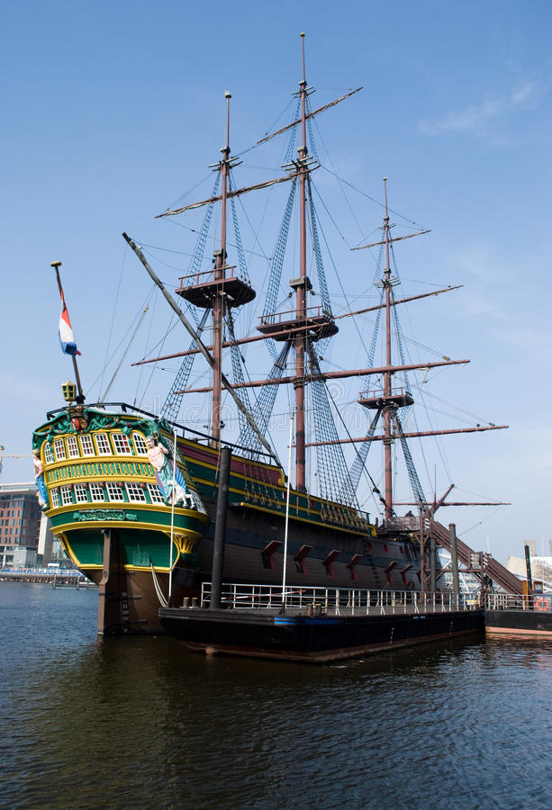 Download Dutch Ship In NEMO Museum Amsterdam Editorial Stock Photo - Image of moor, architecture: 19358523