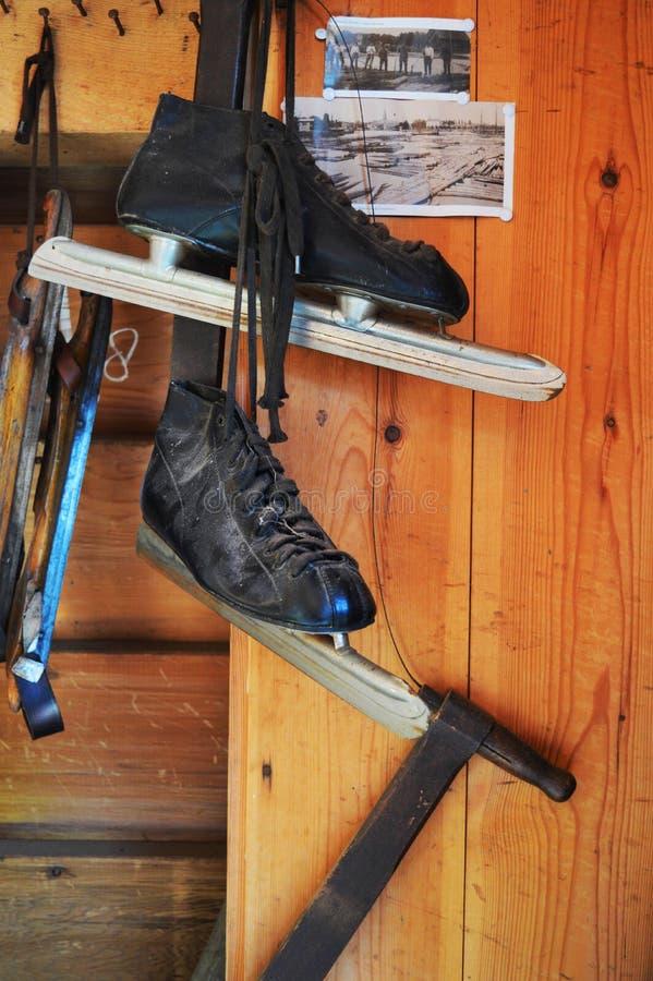Dutch skates royalty free stock images