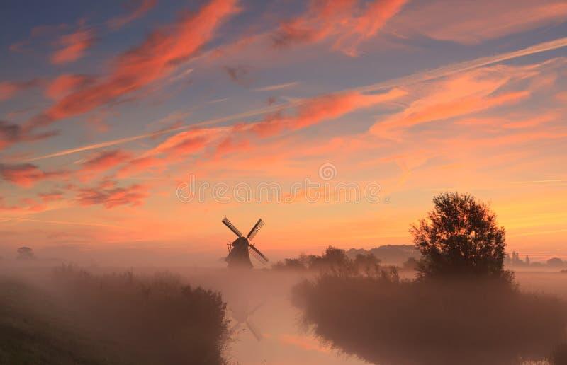 Dutch sky stock photo