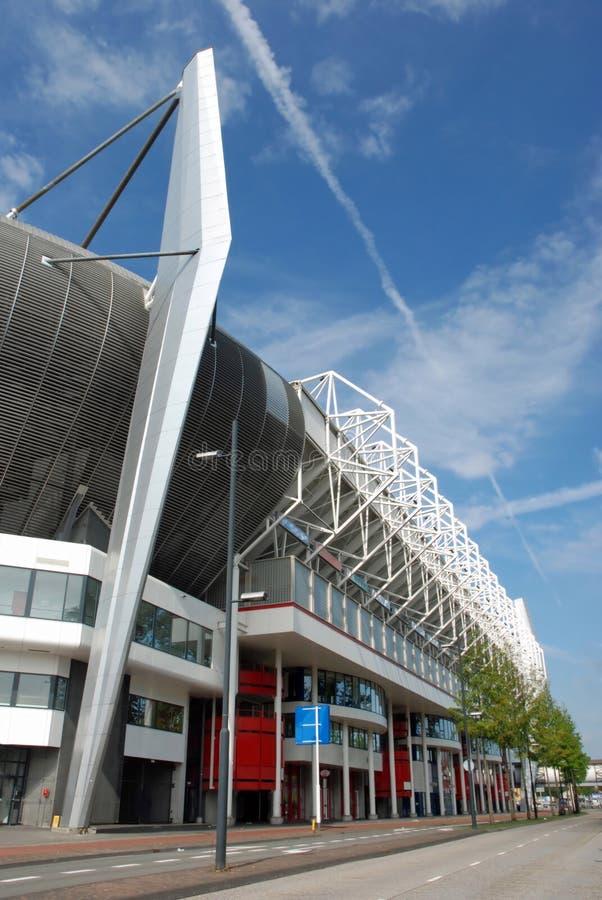 Dutch soccer stadium Eindhoven - outside stock photos