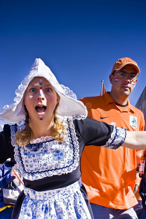 Download Dutch Soccer Supporters - FIFA WC Editorial Stock Photo - Image of fanatic, fans: 14747623