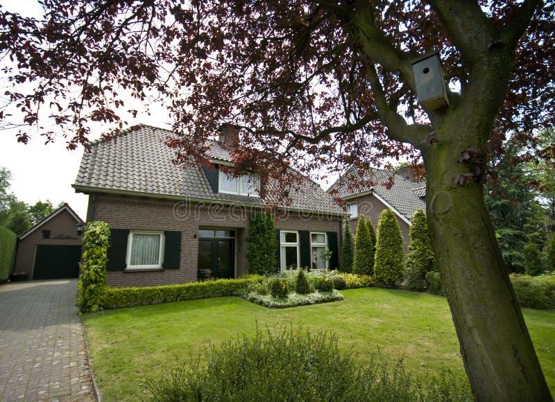 Download Dutch Suburban House Stock Image - Image: 5280071