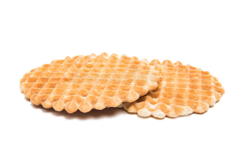 Dutch waffles royalty free stock image