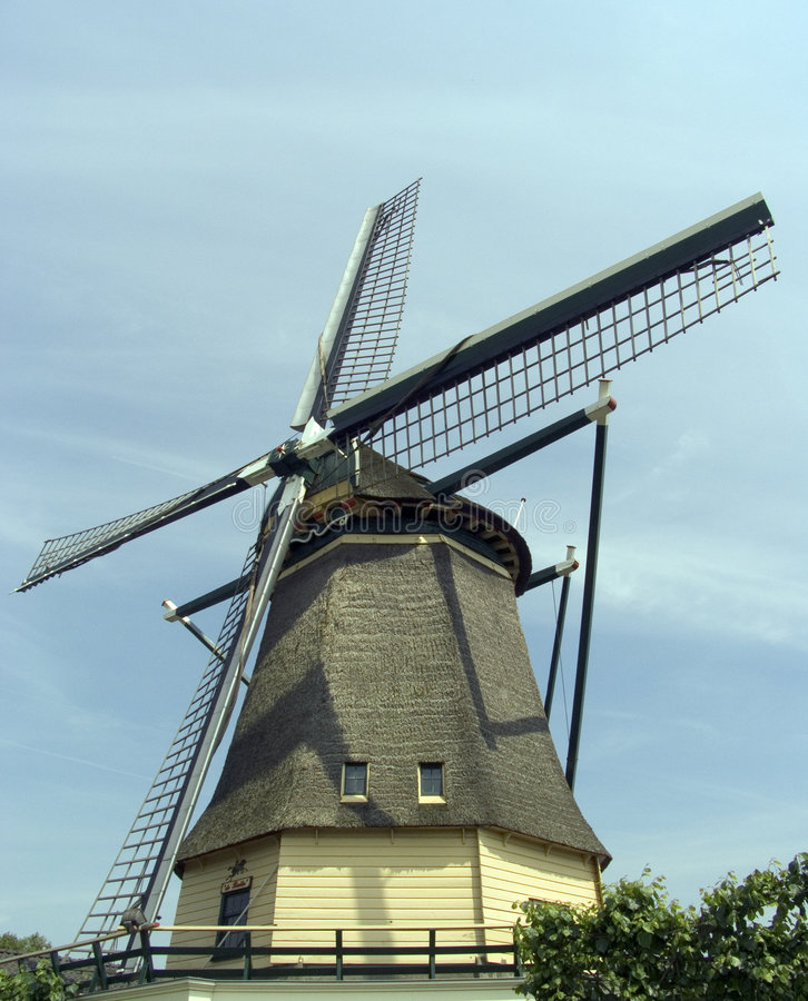 Dutch windmill 12 royalty free stock image