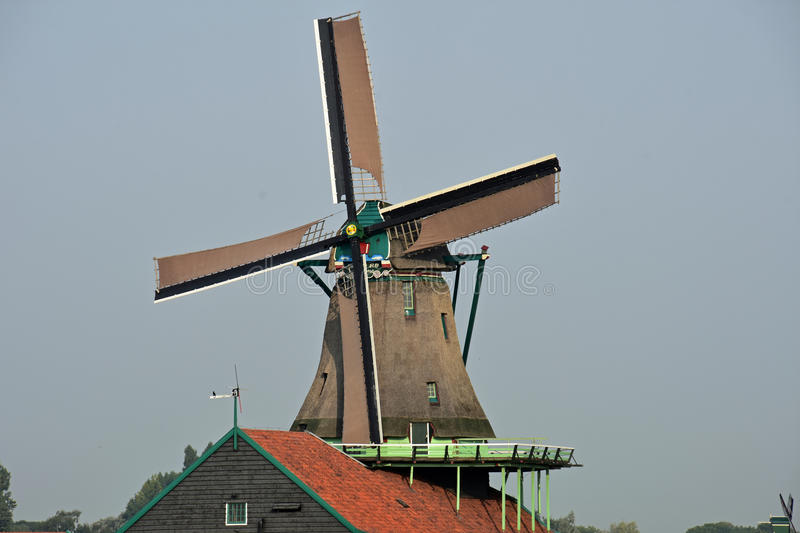 Dutch windmill royalty free stock images