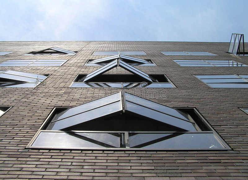 Dutch Windows Royalty Free Stock Photography
