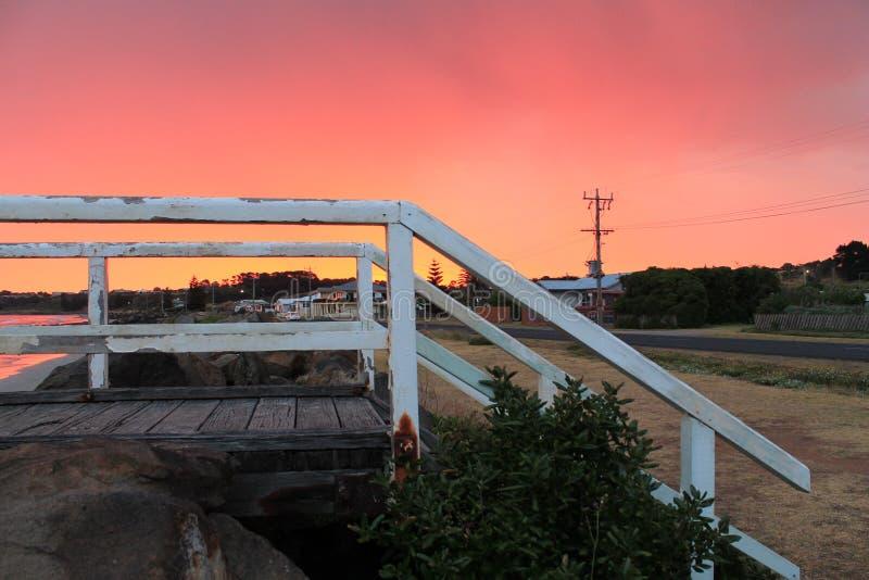 Dutton方式桥梁 免版税库存照片