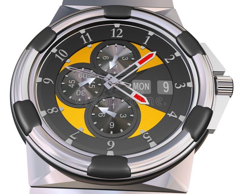 Duur Automatisch Horloge royalty-vrije illustratie