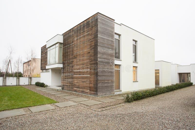 Duur en ontworpen huis royalty-vrije stock foto