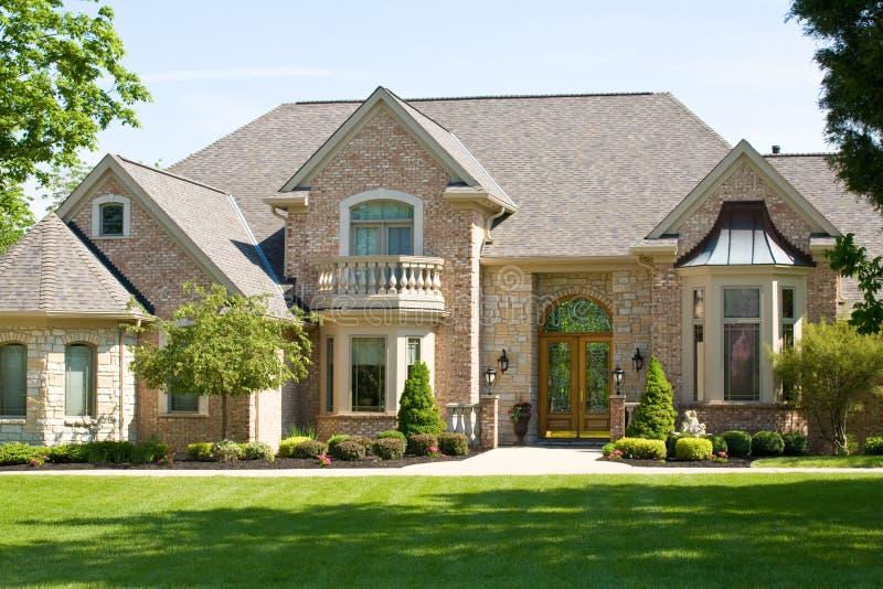 Duur Huis royalty-vrije stock afbeelding