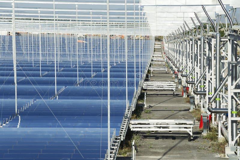 Duurzame energie: Zonne: De nieuwste en schoonste manier te porren stock foto
