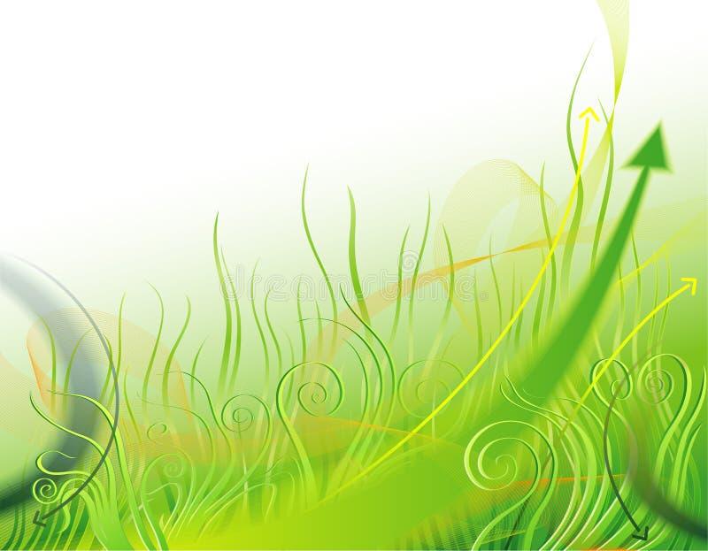 Duurzame ontwikkeling royalty-vrije illustratie