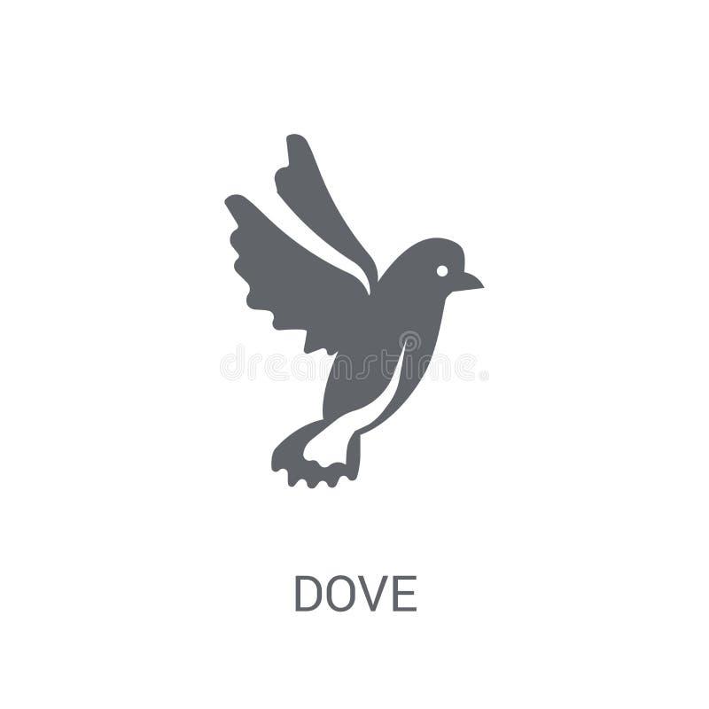 Duvasymbol  stock illustrationer