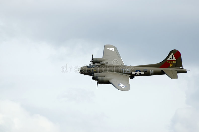 duxford airshow строгает wwii стоковая фотография