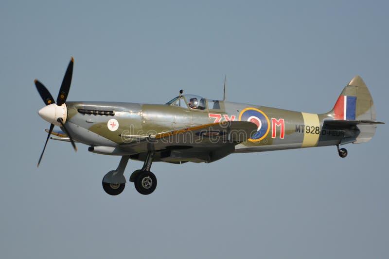 Duxford het Vliegen Legenden/Heethoofdteken VIII, MT928 D-FEUR royalty-vrije stock foto's