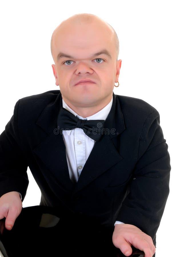 dvärg- liten man royaltyfria foton