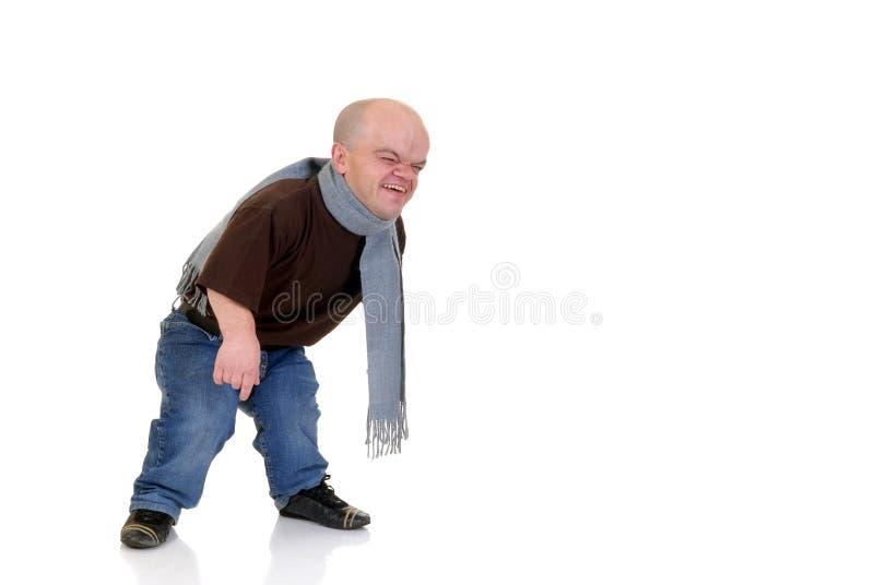 dvärg- liten man royaltyfri foto