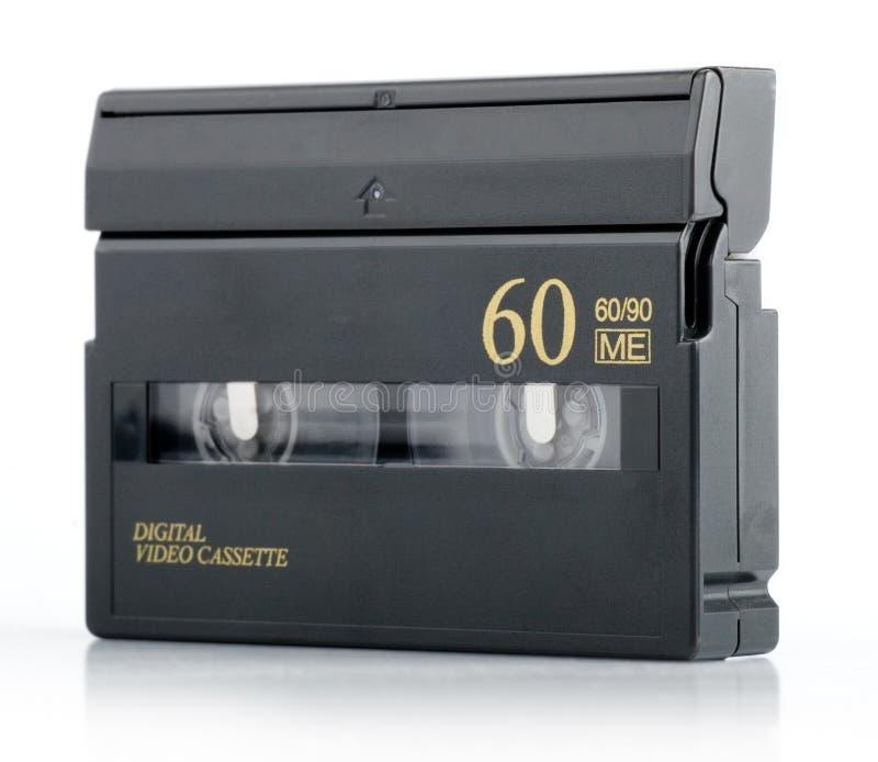 dv微型磁带 免版税库存图片