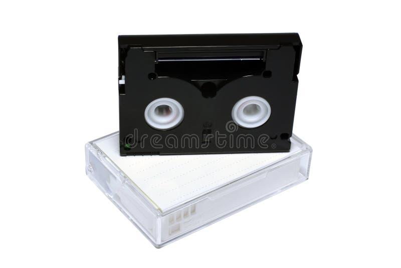 dv кассет миниое стоковое фото rf