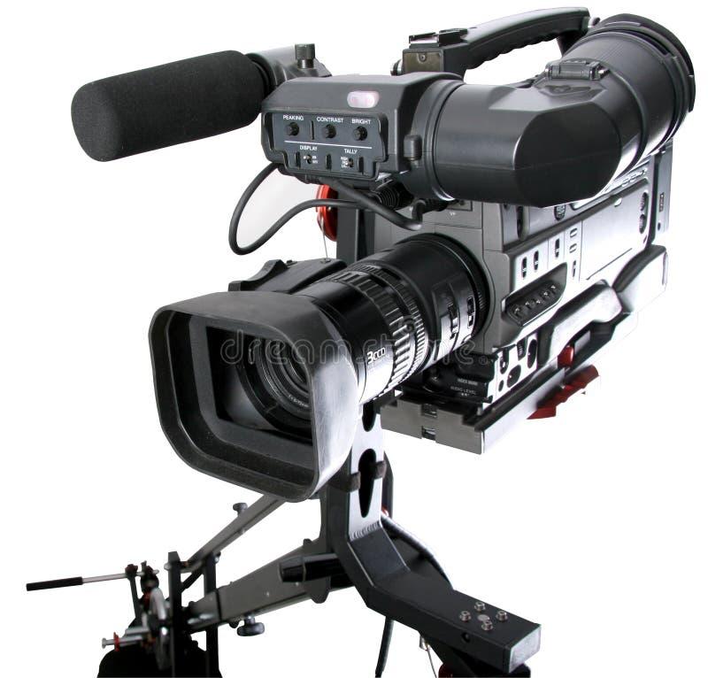 Dv-caméscope sur la grue photographie stock