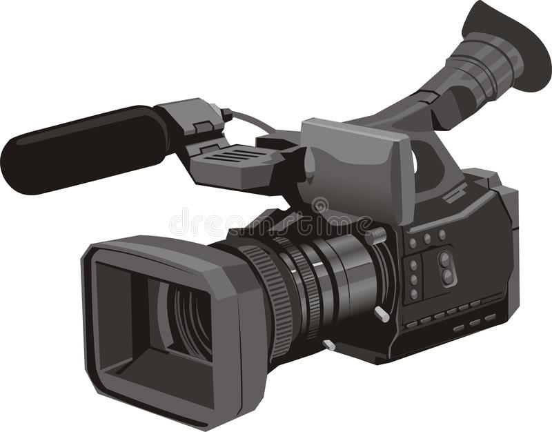 Download Dvc stock vector. Image of photograph, record, mega, entrycamcorder - 12504882