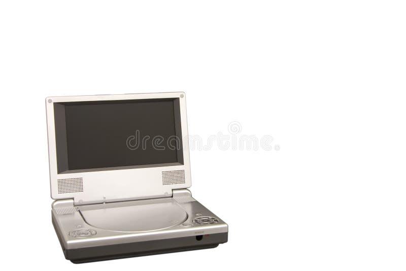 DVD机便携式 库存照片