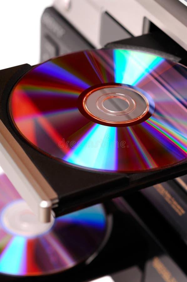 DVD机 库存照片